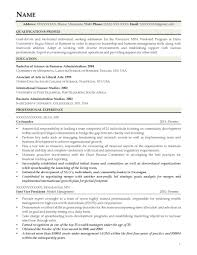 Executive Resume Template Doc Financial Executive Resume It Manager Sample India Sen Peppapp