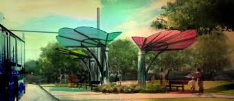 native plants for shade awesome project try this sombrero inspired bus shelter on for