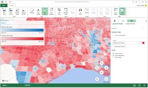 Election Map 2012 by Excel Power Map How To Use Mappoint And Maptitude