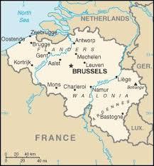 map netherlands belgium belgium god s geography