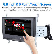 8 8 inch oem android 6 0 radio capacitive touch screen for 2004