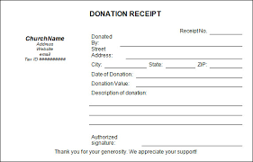 donation receipt form template beautifuel me