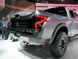titan nissan 2016 detroit 2016 nissan titan xd suits its warrior warpaint car
