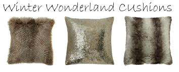 winter wonderland cushions from matalan love chic living