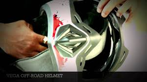 vega motocross helmet vega off road helmet youtube