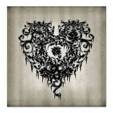 35 best gothic heart tattoos images on pinterest gothic
