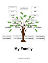 free printable family tree templates homeschooling history