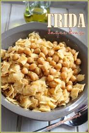 cuisine alg駻ienne constantinoise trida constantinoise sauce blanche recette cuisine algérienne