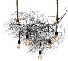 Tree Chandelier The Horizontal Native Chandelier Rustic Chandeliers By Same Tree