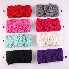 winter headband online shop knit headband crochet headband with flower for