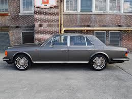 roll royce side 1987 rolls royce silver spirit notoriousluxury