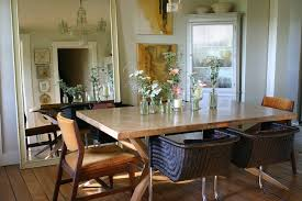 dazzling rustic mirrors vogue other metro shabby chic dining room