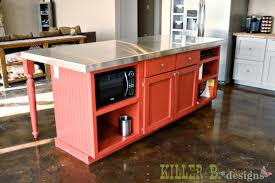 build a kitchen island out of cabinets a handbuilt vintage country kitchen killer b designs