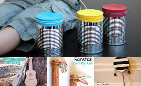 7 musical kids crafts diy thought