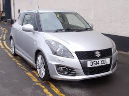 used suzuki swift sport silver cars for sale motors co uk