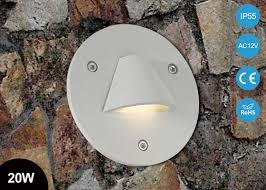 waterproof ip55 20w g4 indoor led step light ac12v outdoor