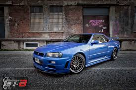 nissan skyline paul walker u0027s u0027fast u0026 furious 4 u0027 r34 nissan gt r for sale priced