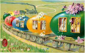 all aboard the bunny train easter clip art miss mary u0027s gazette