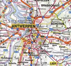 physical map of belgium belgium road maps tourist travel map of belgium great journeys