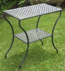 Outdoor Side Table Ideas by Metal Patio Side Table Ideas Enjoyment Ideas Metal Patio Side
