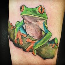57 frog tattoos and ideas