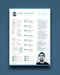 Resume Html Template Modern Resume Template Word Free Download Pretty Templates Best