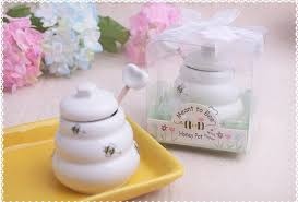 honey jar favors free shipping 100 pcs ceramic meant to bee honey jar honey pot