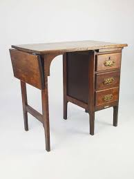 Vintage Small Desk by Small Early 20th Century Oak Desk With Label
