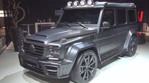 mercedes g class blacked out mercedes benz g amg 63 mansory gronos black edition 2016