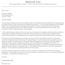darden of business cover letter formatting