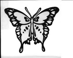 the 25 best butterfly stencil ideas on butterfly