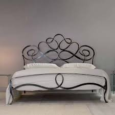 White Metal Bed Frame Bed Frames Wrought Iron Bed Frame Queen Queen Iron Headboard