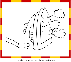 Coloring Pages Printable For Kids Iron Box Coloring Pages For Kids Coloring Page Iron