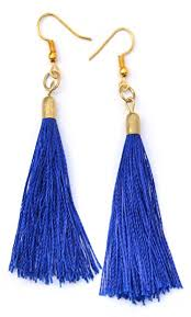 trendy earrings beatnik trendy earrings lightweight fancy tassel stylish