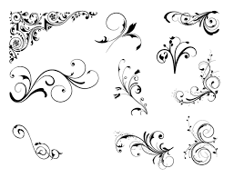 roundup of free vintage ornament floral vectors ornaments