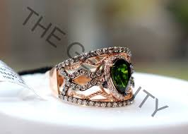 gem gold rings images Levian spumoni collection pistachio diopside 14k strawberry gold jpeg