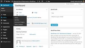 advanced wordpress attachments categories and taxonomy terms