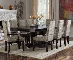 chair dining room table leather chairs with crea dining room table