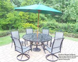 Outdoor Patio Dining Sets With Umbrella Patio Table Sets With Umbrella