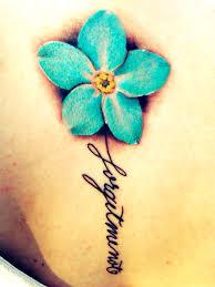yellow flower tattoos alphaphi αφ aoe aphi sorority forgetmenot flower blueflower