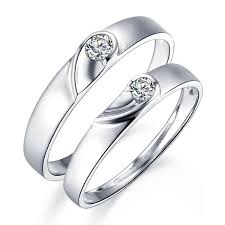 cheap matching wedding bands unique heart shape couples matching wedding band rings on silver