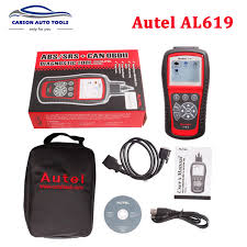 check engine light tool original autel autolink al619 abs srs can obdii diagnostic scan