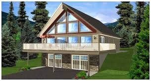 house plans with walkout basements a frame house plans with walkout basement house plans