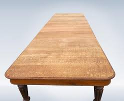 Antique Oak Dining Tables Antique Furniture Warehouse 18ft Antique Oak Dining Table From