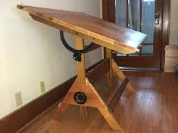 Antique Drafting Table Vintage Drafting Table Image Of Big Vintage Table Antique Drafting