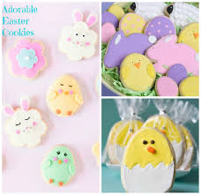 cute easter cookie recipes baking beauty