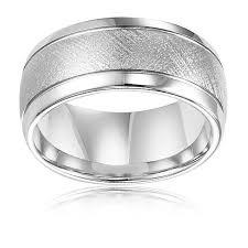 Tungsten Carbide Mens Wedding Rings by Tungsten Carbide Florentine Wedding Band