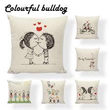 custom printed san valentin pillows pillow cushion ethnic