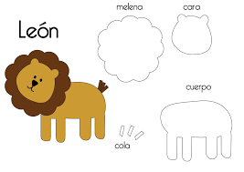 felt lion template google search boys pinterest felting