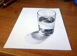 disegni bicchieri i migliori disegni in 3d di artisti conosciuti che ingannano la